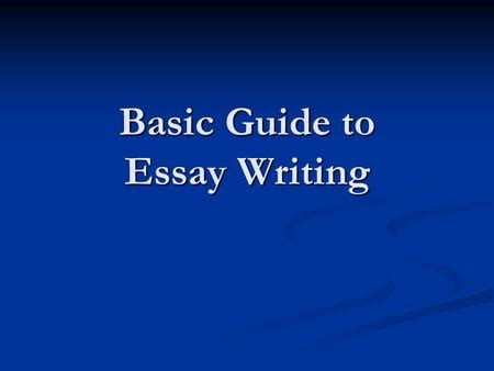 What could I write in a context paragraph in an essay